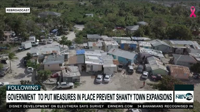 Govt. to halt shanty town expansion