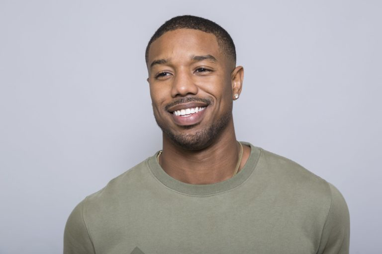 Michael B. Jordan, now a Hollywood heavyweight, punches up