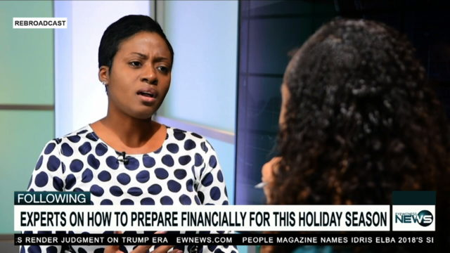 Financial analyst gives holiday spending tips