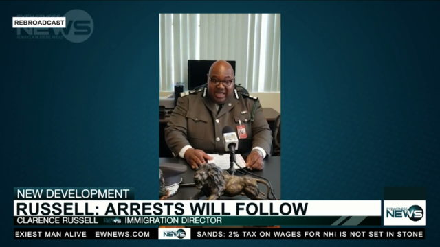 """""""Arrests will follow,"""" says immigration director"""
