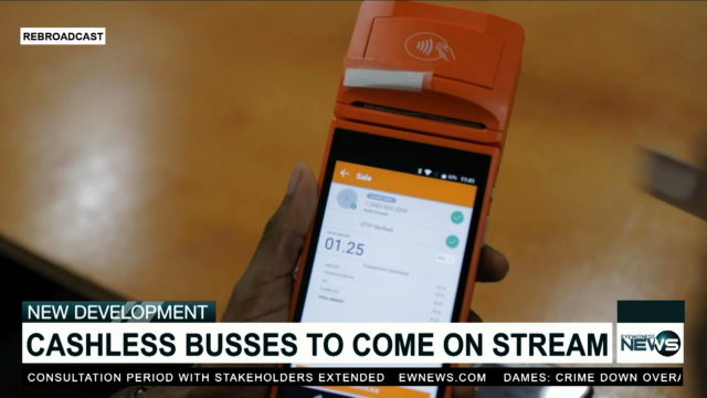 Some busses to go cashless
