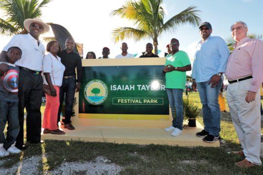 Pinewood park renamed 'Isaiah Taylor Festival Park'