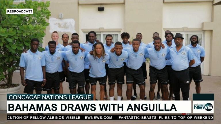 Bahamas draws with Anguilla 1-1