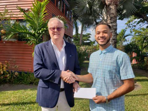 Global Ports Holding donates $10,000 to Nassau Night Market