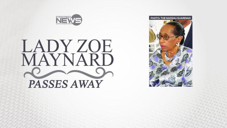 Lady Maynard, pastor Ed Allen die