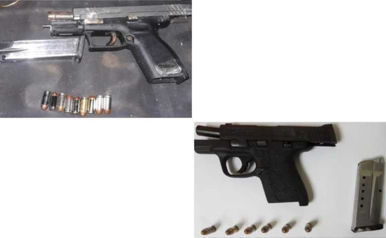 Two illegal firearms recovered in NP