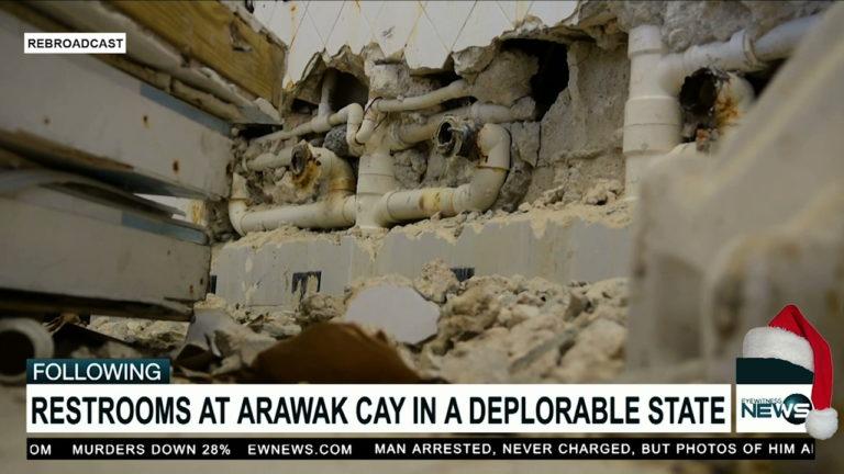 Sands: Arawak Cay bathroom 'disgusting'