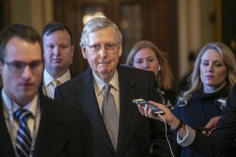 Senate sets up showdown votes on shutdown plans