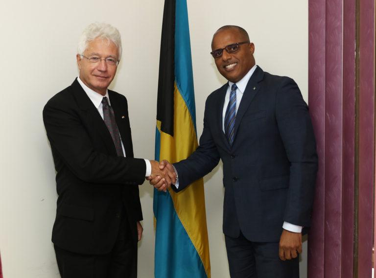 German Ambassador Designate pays courtesy call on the Prime Minister