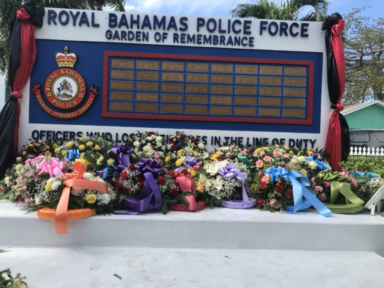 Fallen police remembered