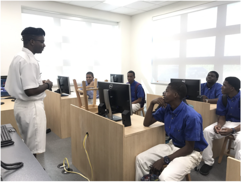Maritime academy shines at open house