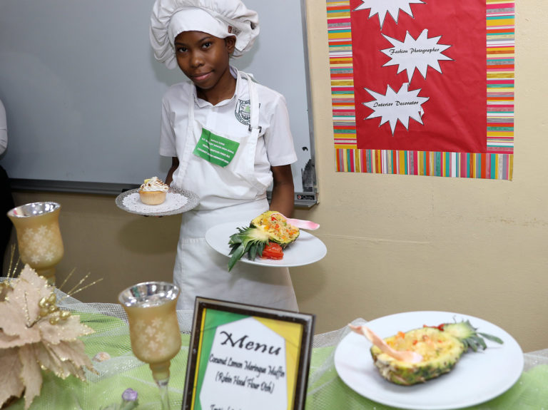 A.F. Adderley's Anyah Coke wins Young Chef Competition