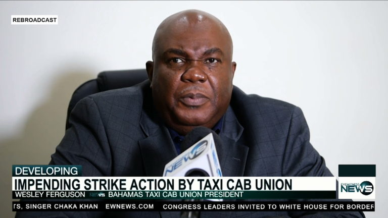 Bahamas Taxi Cab Union threatens to strike