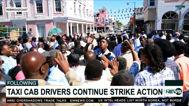 Taxi-cab drivers lead protest to parliament