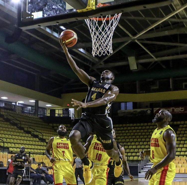 Team Bahamas moves on
