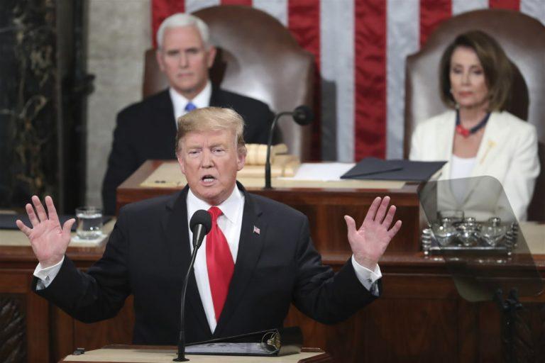 Trump claims 'ridiculous partisan' probes may upset progress