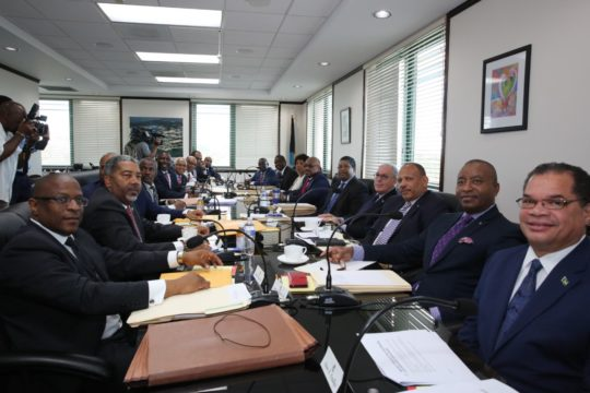 Cabinet meets in Grand Bahama