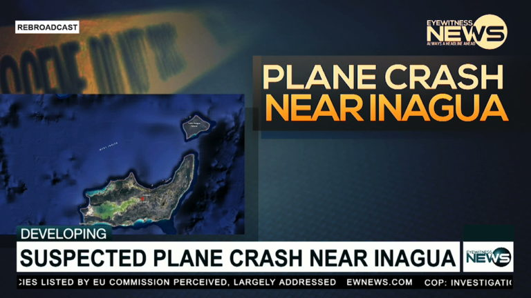 Search for aircraft in Great Inagua ongoing