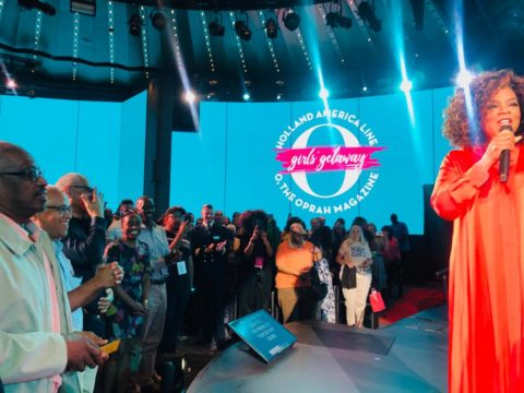 PM takes in Oprah Winfrey show on Holland America Cruise Line