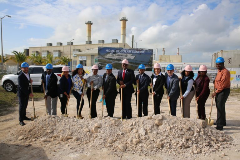 PM breaks ground in GB for country's first solar plant