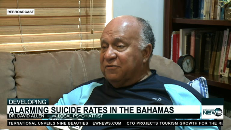 Dr. Allen speaks out on causes of suicide