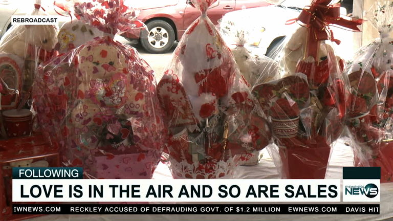 Love is in the air and so are basket sales