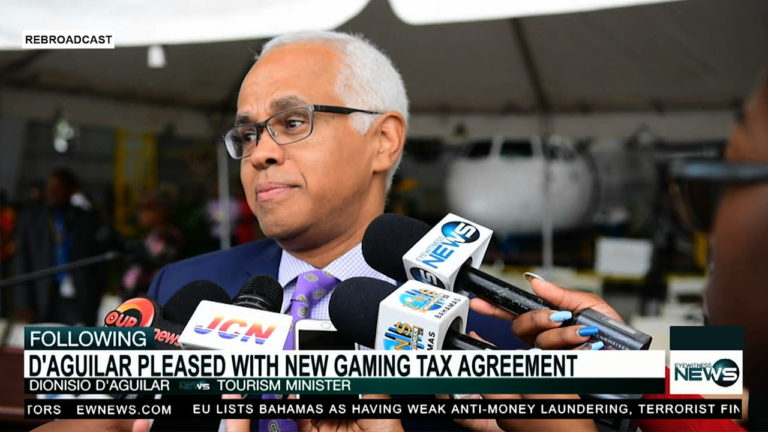 D'Aguilar pleased with new gaming tax