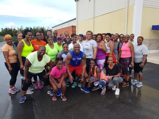 Solomon's shoppers encouraged to 'shake off the pounds' at free workout sessions