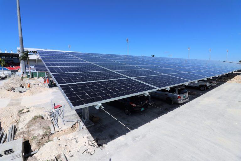 900-kilowatt solar car park project to open March 18 at TAR stadium