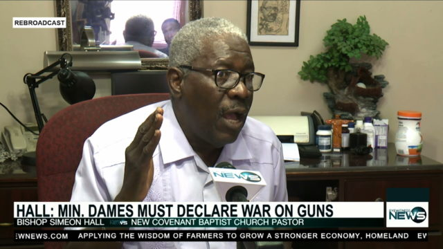 Bishop pushes for stiffer gun penalties, phycological profiling