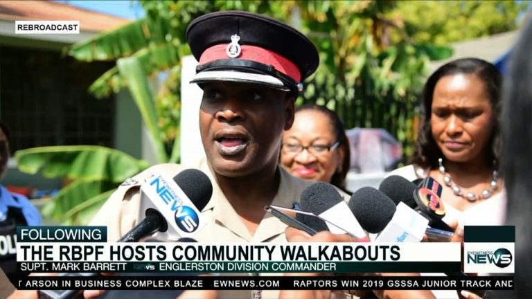 Top brass of RBPF lead community walkabouts