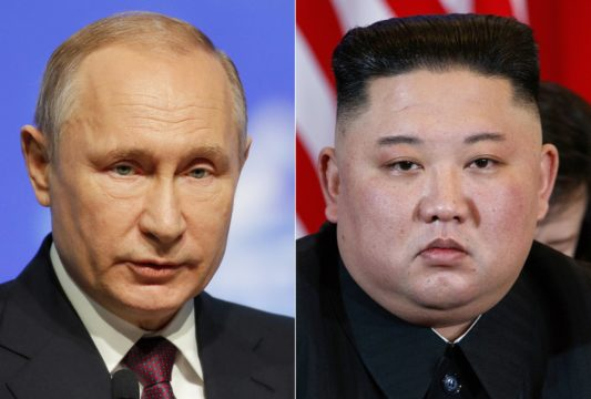 North Korea's Kim on way to Russia to meet Putin on Thursday
