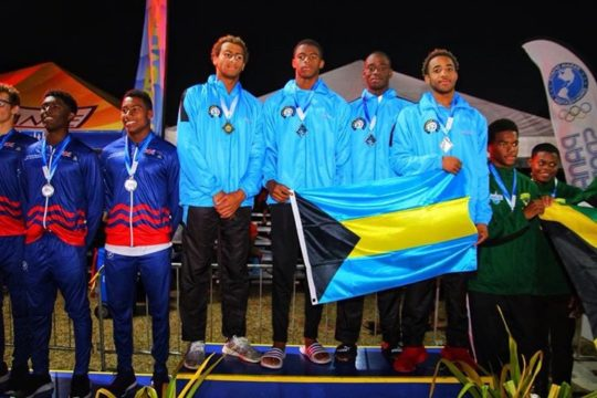 Bahamas wins CARIFTA swimming title