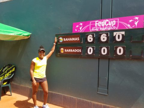 Fed Cup team sweeps Barbados