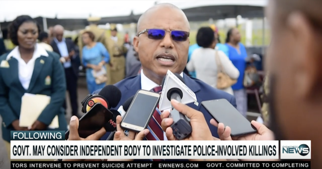 Dames: Govt. may consider new approach to police-involved killings