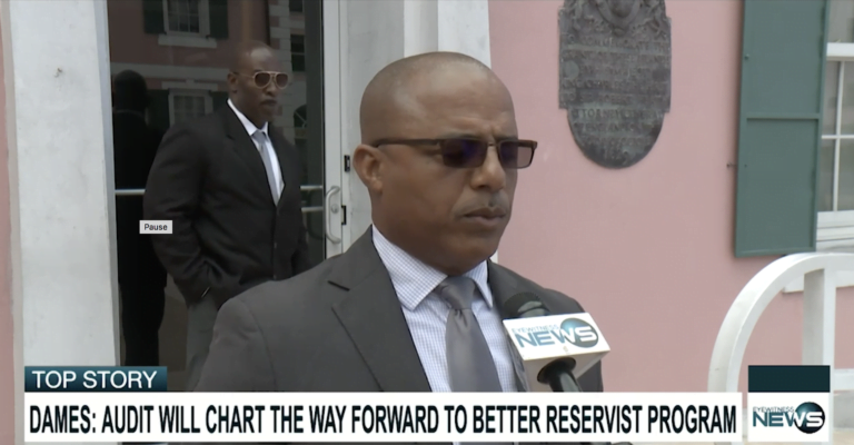 Dames: Audit not an indictment on RBPF reserves