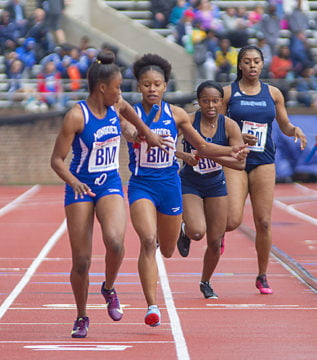 Mingoes perform well at Penn Relays despite weather challenges