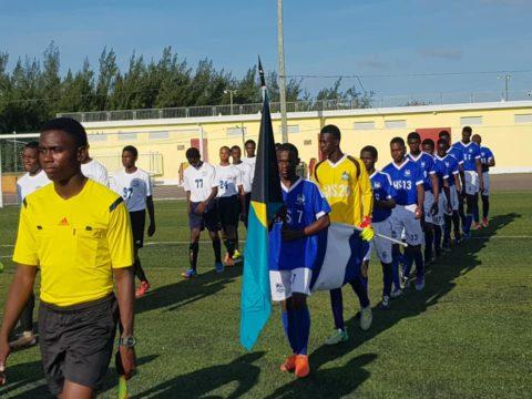 National High School Soccer Championships underway