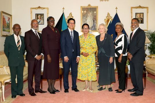 Cancer Society board of directors pays courtesy call on GG