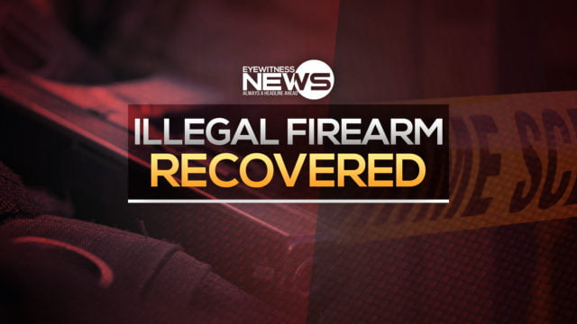 Police recover illegal firearm