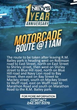 Eyewitness News motorcade route