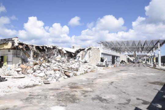 NAD begins demolition of old Domestic /Int'l terminal at LPIA