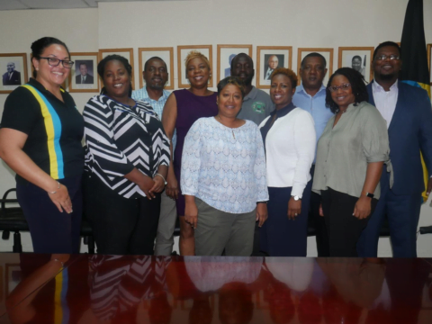 Bahamas government joint agency committee heads to Acklins