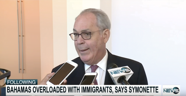 Symonette responds to views of IACHR on illegal migration