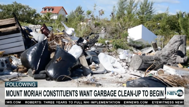Mount Moriah constituents fed-up with indiscriminate dumping