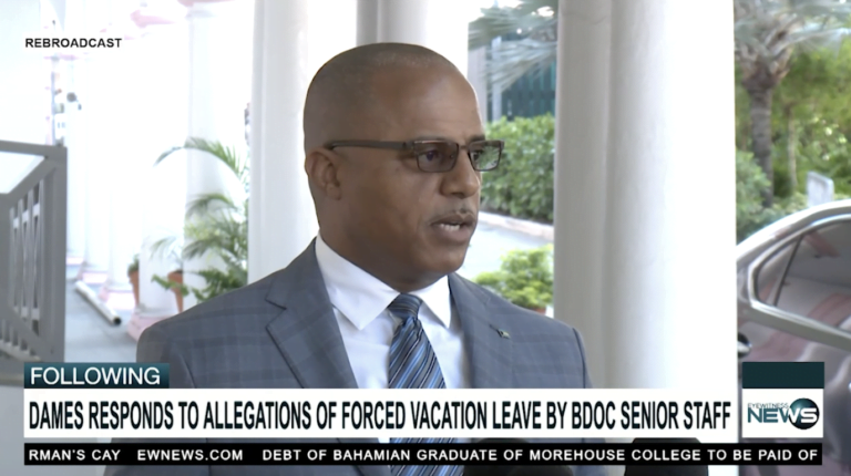 Dames responds to forced vacation leave allegations levied by BDOCS officers