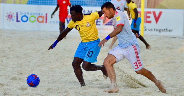 Beach soccer team looking to build on CONCACAF experience