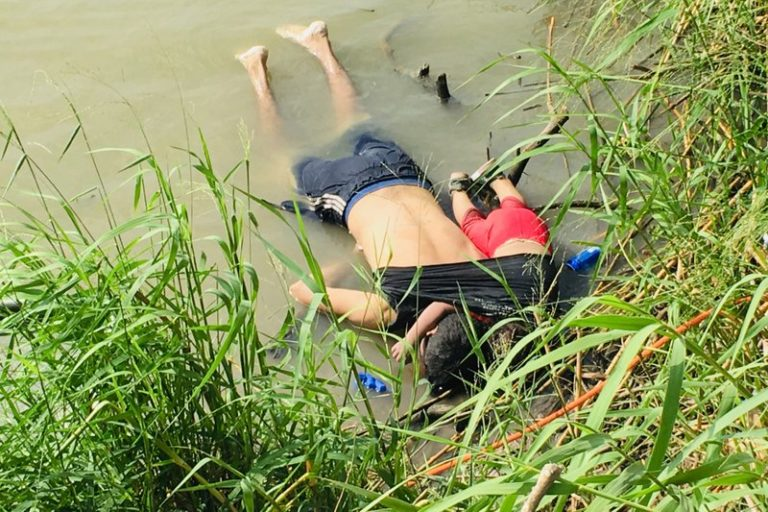 A grim border drowning underlines peril facing many migrants