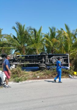 Two receiving treatment at PMH after bus accident in stable condition
