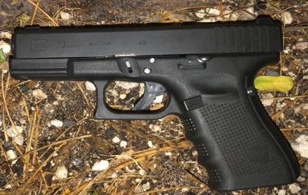 Illegal firearm and drugs recovered on Ferguson St.